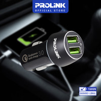 Car Charger PROLINK PCC23601 36W 2-Port IntelliSense