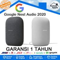 Google Nest Audio Smart Speaker Wireless Resmi (not home homepod mini)