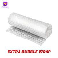Extra Bubble Wrap Pelindung/Pengaman Dus Footstep Footwear