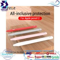 Case Apple Pencil 2 Cover Silikon Ipad Pro 2018 Pen Casing Free Box HQ
