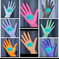 Sarung tangan medis APD nitrile dan latex. (jual per box) - blueple