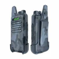WLN KD-C1 Handie Talkie UHF Abu Loreng Garansi Non Handsfree HT WLAN