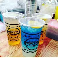 Sablon Cup Gelas Plastik 22 oz 22oz POLLYCUP 10gr + CUSTOM LOGO GRATIS
