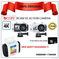 Bcare BCam X-5 Action Camera free Micro 32 GB
