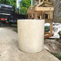 Pot Teraso Silinder Diameter 35 Tinggi 35