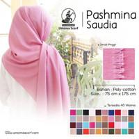 Pashmina SAUDIA Rawis original by UMAMA Scarf Polyster 176 x 77