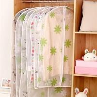 60x130 Cm Cover Baju Bahan Peva Sarung Penutup Pelindung Baju Anti Air