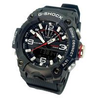 Jam Tangan Pria CASIO G-SHOCK GG B-100 Digital Alanog Anti Air - Hitam Putih