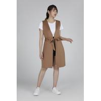 RAMUNE -AFT -Nina Scuba Vest-(Brown)