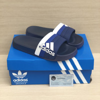 Sandal Adidas Adilette Slide On Blue import