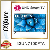 LG UHD SMART TV 43 INCH 43UN7100PTA
