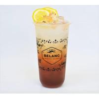 Sablon Cup Gelas Plastik 22 oz 22oz OVAL + CUSTOM LOGO GRATIS