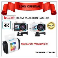 Bcare BCam X-5 Action Camera WiFi 16 MP Touch Dual Screen Ultra HD 4K - Putih