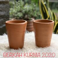 Pot Terracotta Gelas Besar Pot Tanah Liat Gelas Besar Pot Gerabah