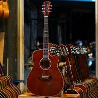 Gitar Akustik Elektrik Cole Clark Coklat