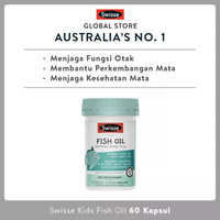 Swisse Kids Fish Oil 60 Kapsul Blackmores Kids fruity fishies omega 3
