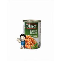 Ciao Kacang Buncis Panggang- Navy- Baked Beans in Tomato Sauce 400g