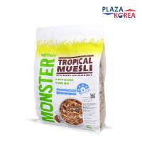 MONSTER HEALTH FOOD CO TROPICAL MUESLI 700GR - SEREAL MAKANAN SARAPAN