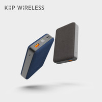 KIIP WIRELESS POWER BANK 10W FAST CHARGING PD&QC 3.0 18W 10000MAH