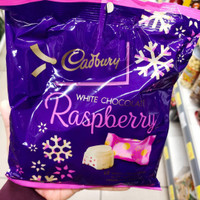 cadbury white chocolate raspberry (snack taiwan)