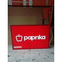 Neon Box Uk.60cmX90cm (2 sisi)
