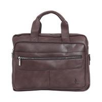 Briefcase Polo Classic 960-02-19 Brown