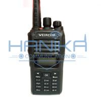 Weircom WR808 VHF Handie Talkie IP68 10Watt Ori Baru HT Waterproof