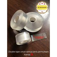 Grip Tape / Magic Nano Double Tape Bening Clear (1Meter x 3cm)