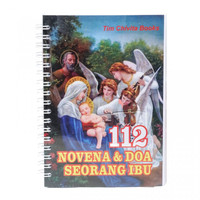 Buku Doa 112 Novena dan Doa Seorang Ibu-Buku Rohani-Doa Rohani