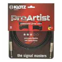 KLOTZ PRON-030PP Pro Artist - 3mtr Instrument Cable