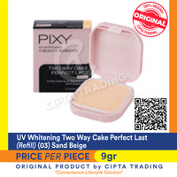 UV Whitening - Pixy - Two Way Cake Perfect Last Refill 03 Sand Beige