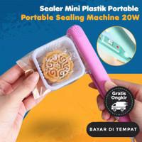 Mini Hand Sealer Portable Plastik Perekat Plastic Snack Wrap Sealing