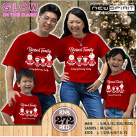 NEW SPIRIT GLOW IN THE DARK BLESSED FAMILY KAOS NATAL CHRISTMAS LGLF
