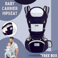 Aixinta Gendongan Bayi Hip Seat Hipseat Baby Carrier multifunction pre - Biru Muda