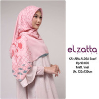 Hijab Jilbab SYARI Segi Empat KANARA ALDEA Scarf ELZATTA Original