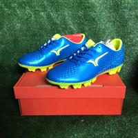 OBRAL Sepatu Bola Calci Scorch FG - Saphire Blue / Lime