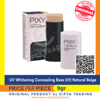 Concealing Base - Pixy - UV Whitening Concealing Base 01 Natural Beige