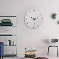 Jam Dinding Bulat Quartz Silent Tanpa Detak Suara Nordic Modern Design - Model 02