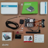 Jetson Nano Stereo Vision Camera 32GB GSM 4G GPS Tower CPU Cooling Fan