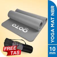 Goto NBR Yoga Mat 10mm Matras Alas Anti Slip Tebal