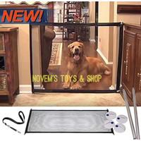 Magic Mesh Pet Dog Cat Gate Door Barrier Safe Net Guard Original