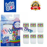 DIAPERS REFILL BABY ALIVE PACK 6 PCS