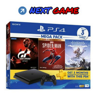 [PROMO] PS4 Slim 1TB CUH 2218B Mega Pack 3 Games Garansi Resmi Sony
