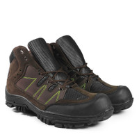 Sepatu Tracking Local Made Premium Quality | Ujung Besi | Safety Shoes