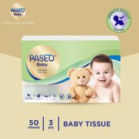 Paseo Baby Tissue Bayi Travel Pack 50 Sheets