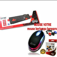 Keyboard + Mouse Usb Votre