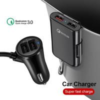 Car Charger 4 Slot 12A QC 3.0 quick charging