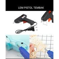 LEM Tembak Kecil Listrik Pistol Hot Melt Glue Gun