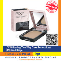 UV Whitening - Pixy - Two Way Cake Perfect Last (03) Sand Beige
