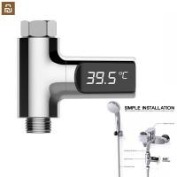 termometer led rotateable suhu air keran shower mandi bathtub wastafel